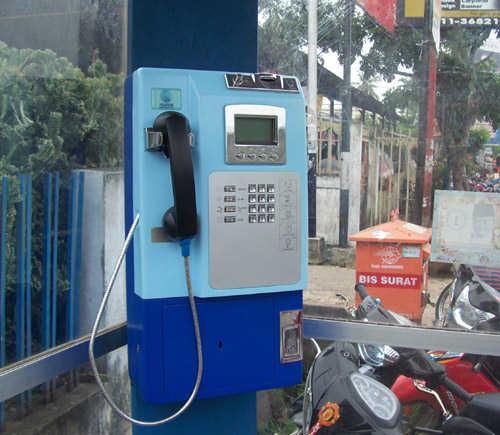 Telepon umum koin