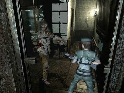 Jill , Salah satu tokoh utama di Resident Evil 1