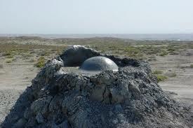 Gunung berapi lumpur di Azerbaijan