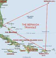 Letak Segitiga Bermuda