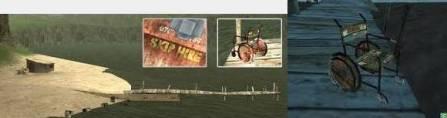 Rusty Wheel Chair